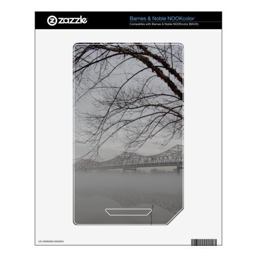 Bridge spanning Ohio River Skins For NOOK Color