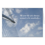 Bridge Spine And Cables Construction Birthday Card at Zazzle