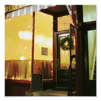 Bridge Street Café – Magic in the Night Poster