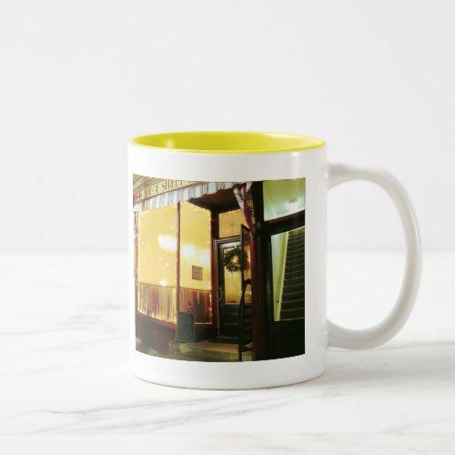 Bridge Street Café – Magic in the Night Two-Tone Coffee Mug