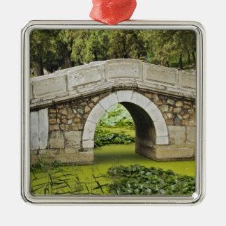 Bridge, Summer Palace, Beijing, China Metal Ornament