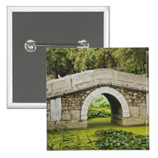 Bridge, Summer Palace, Beijing, China Pinback Button