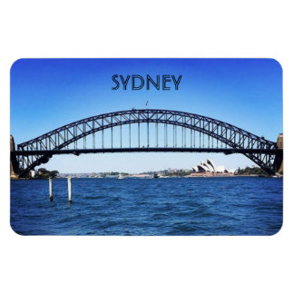 bridge sydney rectangular photo magnet
