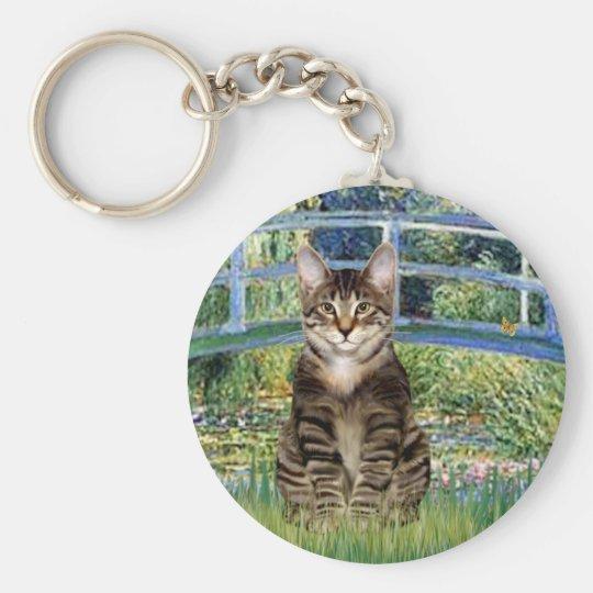 Bridge - Tabby Tiger cat 30 Keychain