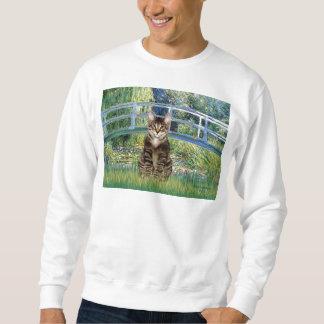 Bridge - Tabby Tiger cat 30 Sweatshirt
