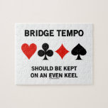 Bridge Tempo Should Be Kept On An Even Keel Puzzle
