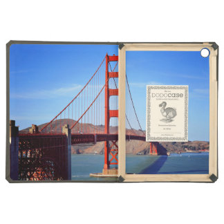Bridge Themed, A Metal Bridge Built To  Join Two C iPad Air Cases