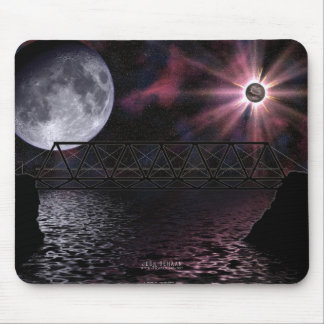 Bridge To Be Crossed Mouse Pad