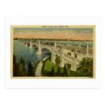 Bridge to Belle Isle Detroit, Michigan, Vintage Postcards