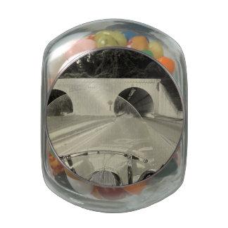Bridge to Chattanooga Glass Jar
