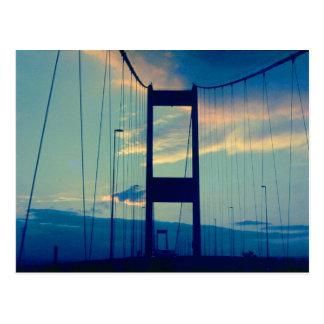 Bridge to England (1970s) Postcard