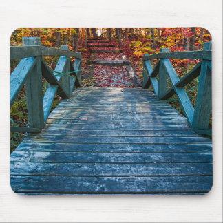 Bridge to Fall - Mousepad