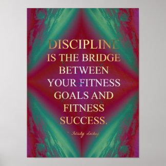 Bridge to Fitness Success Poster