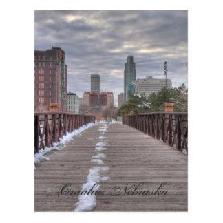 Bridge to Omaha Postcard