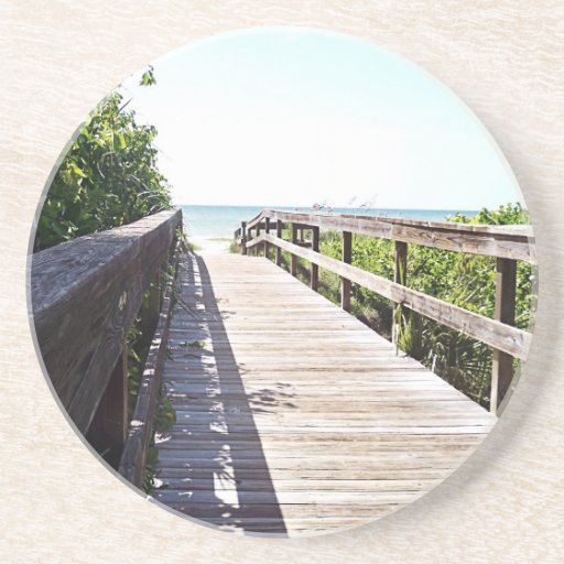 Bridge to Paradise GP Beverage Coasters