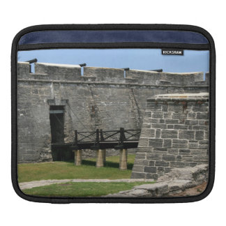 Bridge to St Augustine Fort across moat Sleeve For iPads
