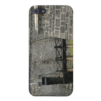 Bridge to St Augustine Fort across moat iPhone 5 Cases