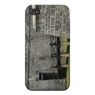 Bridge to St Augustine Fort across moat iPhone 4 Cases