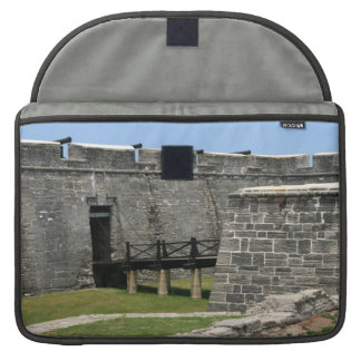 Bridge to St Augustine Fort across moat MacBook Pro Sleeve