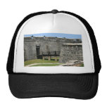 Bridge to St Augustine Fort across moat Mesh Hat