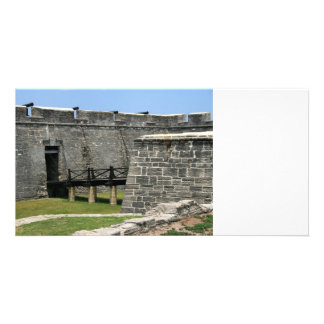 Bridge to St Augustine Fort across moat Photo Cards