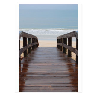 Bridge to the Beach Postcard