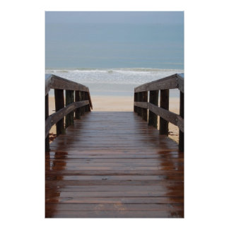Bridge to the Beach Poster