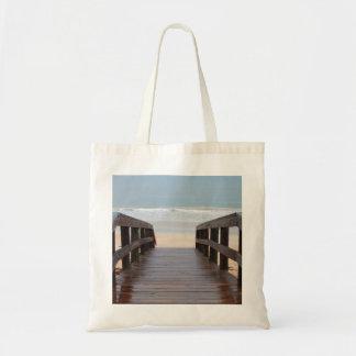 Bridge to the Beach Tote Budget Tote Bag