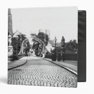 Bridge to the Cathedral, Breslau  Poland, c.1910 Binder