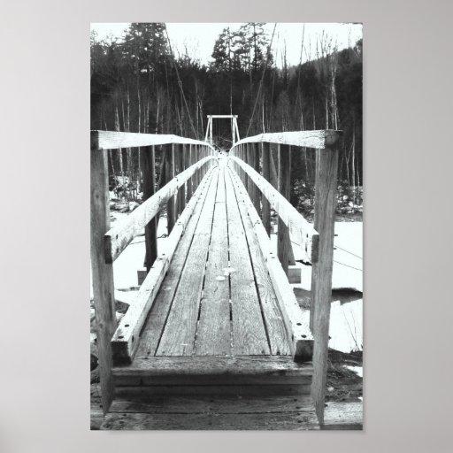 Bridge to the Great Gulf Wilderness Poster