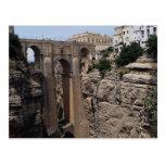 Bridge to the Old Quarter, Ronda, Spain Post Card