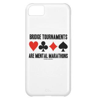 Bridge Tournaments Are Mental Marathons Card Suits Cover For iPhone 5C