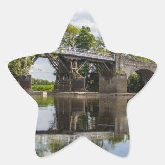 Bridge Wales Star Sticker