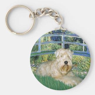 Bridge-Wheaten Terrier 1 Keychain