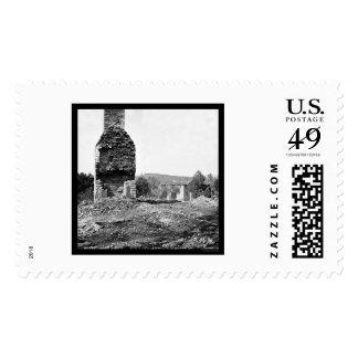 Bridge Where General Longstreet Retreated 1864 Postage Stamp