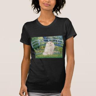 Bridge - White Persian cat Tee Shirt