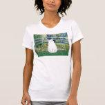 Bridge - White short haired cat Tshirt