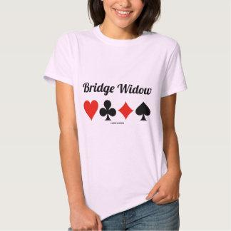 Bridge Widow (Four Card Suits) T Shirt