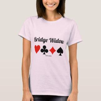 Bridge Widow (Four Card Suits) T-Shirt