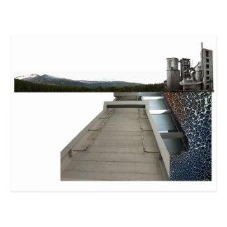 bridged_ postcard