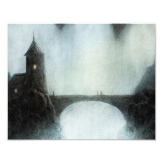 bridgefalls que encuentran la impresión de la foto