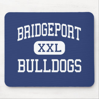 Bridgeport - Bulldogs - High - Bridgeport Ohio Mouse Mat
