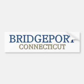 Bridgeport Connecticut Car Bumper Sticker