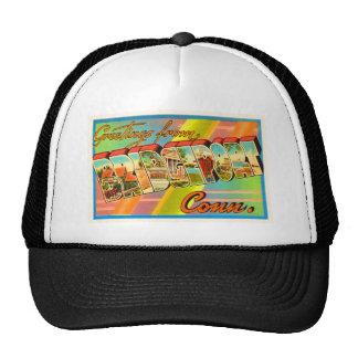 Bridgeport Connecticut CT Vintage Travel Souvenir Trucker Hat
