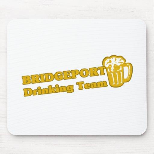 Bridgeport Drinking Team tee shirts Mouse Pad