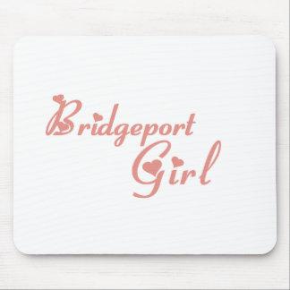 Bridgeport Girl tee shirts Mouse Pads
