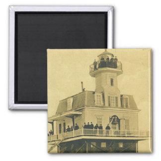 Bridgeport Harbor Lighthouse Magnet