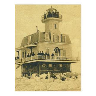 Bridgeport Harbor Lighthouse Postcard