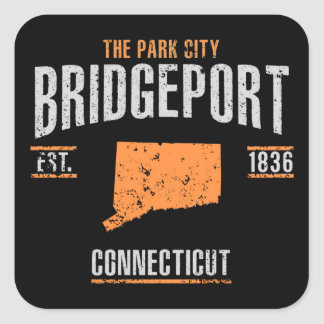 Bridgeport Square Sticker