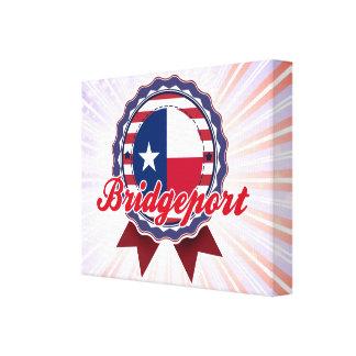 Bridgeport, TX Impresión En Lienzo Estirada